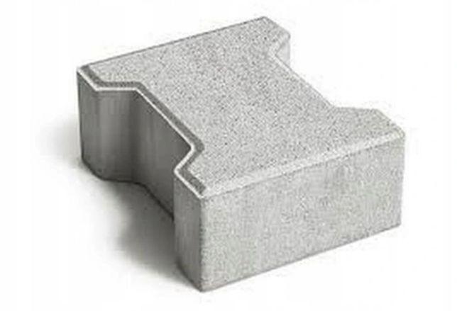 Kostka brukowa- BEHATON kość szara 6 cm