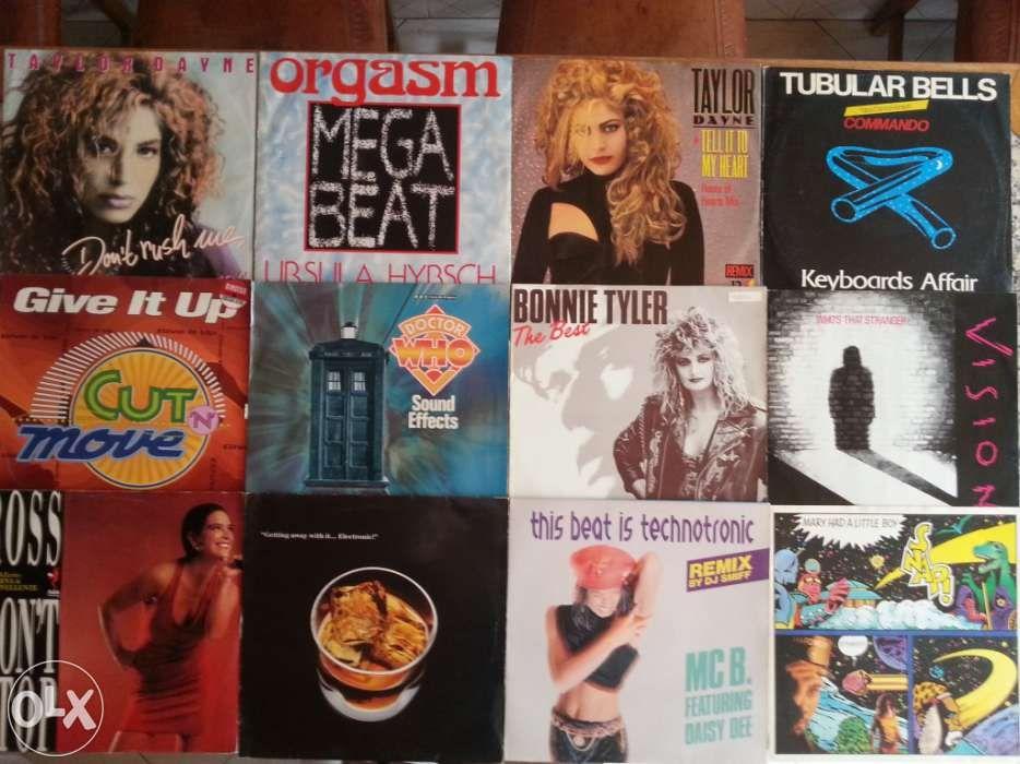 Vinil:Bob Marley,Madonna,Iron Maiden,Billy Idol,Gal Costa,Simple Minds