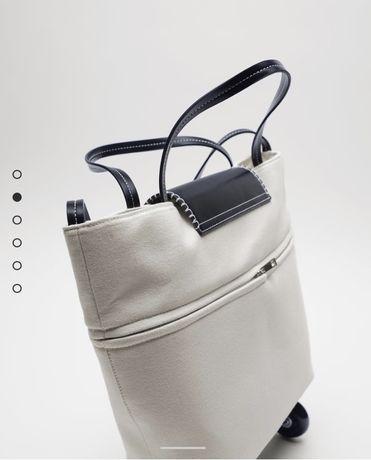 Сумка раскладная на колесиках Zara оригинал