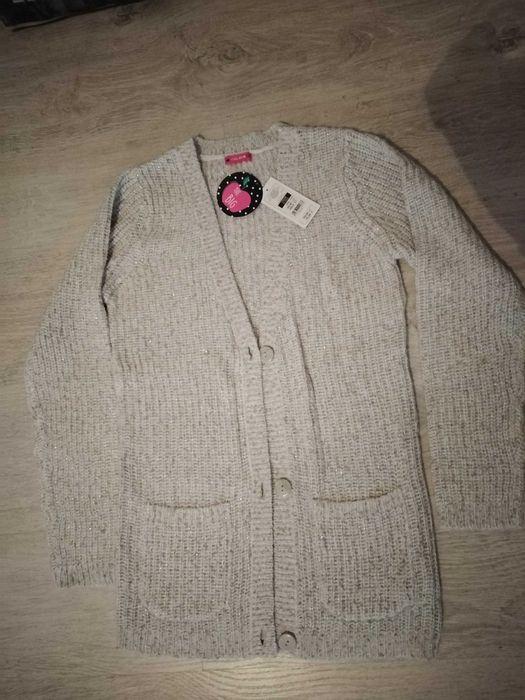 Sweter rozpinany Cool Club ze Smyka r 170 cena 27 zł wysyłka 1 zł Łebcz - image 1