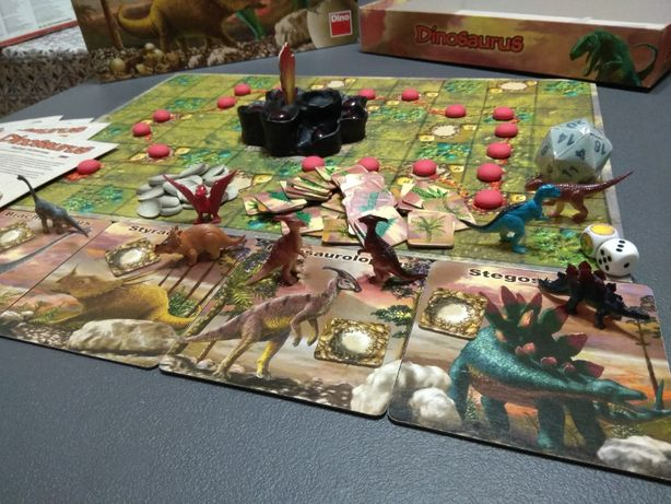 Настольная игра Dinosaurus, Динозавры Битва гигантов, для семьи