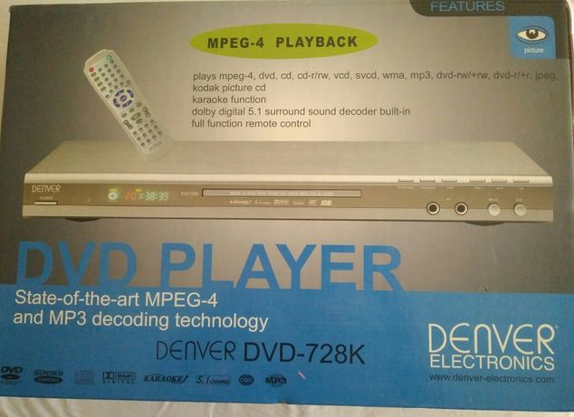 Leitor de DVD Player