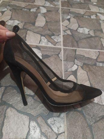 Туфли женские экозамш