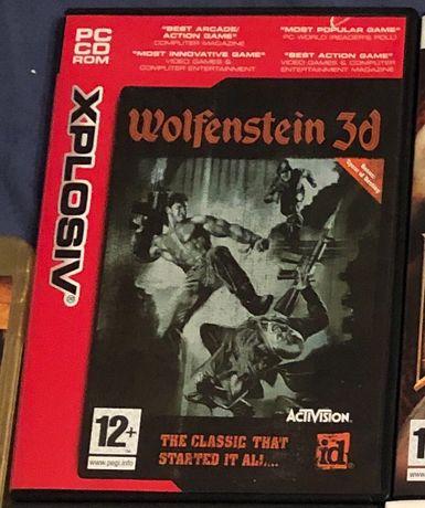 Wolfenstein 3D PC Gra
