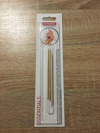 Палочки для маникюра Titania, набор из 3 шт, новые