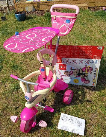 Rowerek trójkołowy Smart Trike 4w1 super stan, komplet, instrukcja