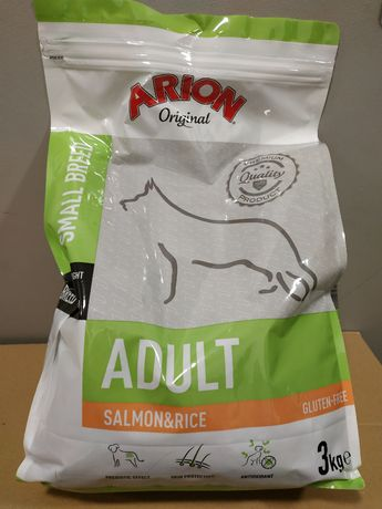 ARION Original Adult Small Salmon&Rice 3kg WROCŁAW