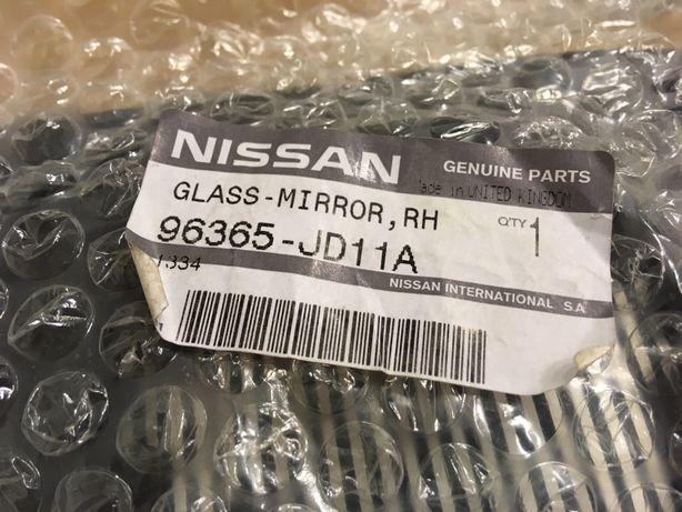 Nissan QASHQAI wkład lusterka ogrzewany