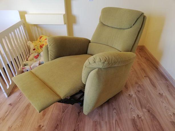 Piękny fotel z funkcją relax jak nowy
