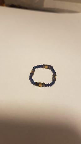 Pierścionek handmade z kamieniami wersja 2