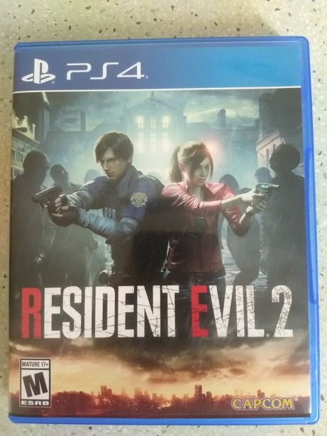 Диск Resident Evil 2 Remake PS4 (Playstation 4)