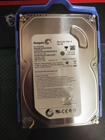 Жёсткий диск HDD Seagate 500gb