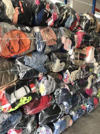 Hurtownia Odzież Używna (bez odpadu, dużo kremu)