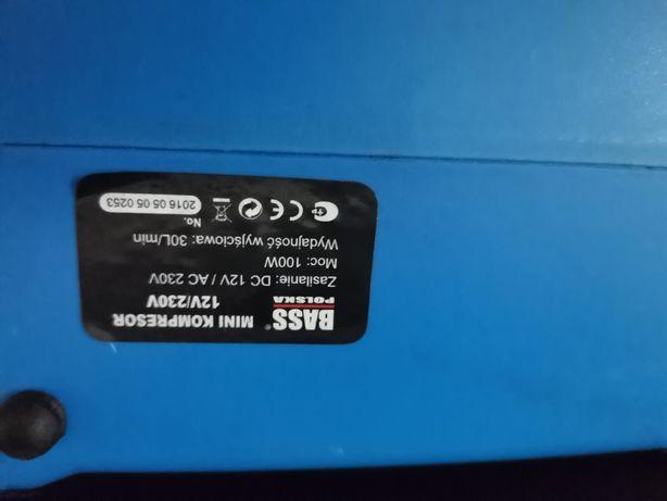 Mini Kompresor Z Latarką 12V/230V 100W