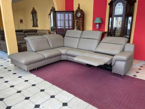 Кожаный угловой диван Германия