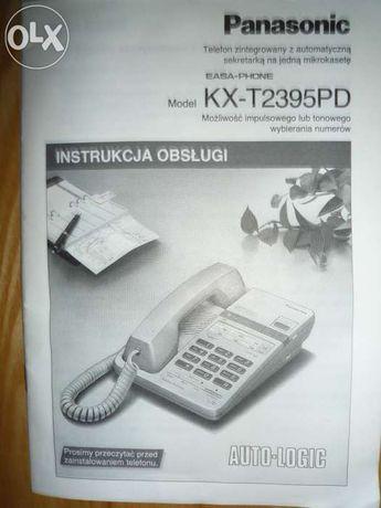 instrukcja obsługi - telefon Panasonic KX-T2395PD