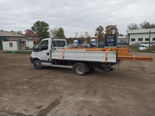 Transport usługi transportu wywrotka żwir, piasek,drewno  bus 15m3
