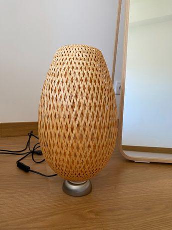 Candeeiro de mesa bamboo IKEA BOJA