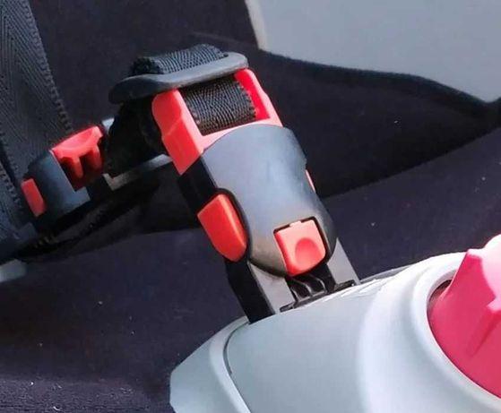 Hamax Siesta mocowanie pasów zapięcie szelek klamry Smiley fotelika