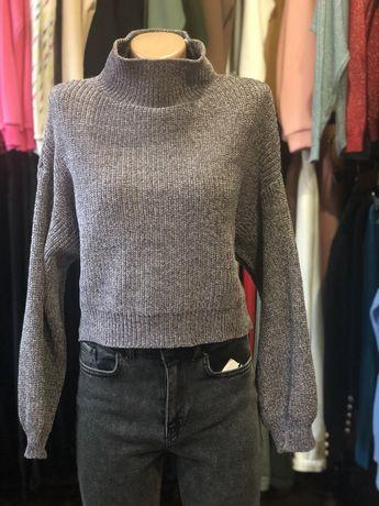 Укорочена кофта кофти світер свитер  жіноча женская одежда оверсайз