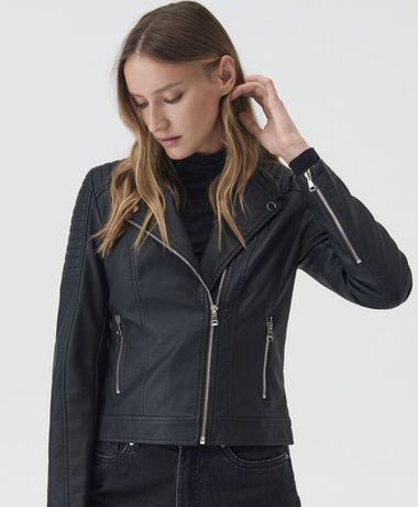 Женская косуха из эко кожи женская куртка