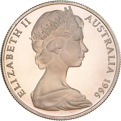 50 centów - Elizabeth II 1966