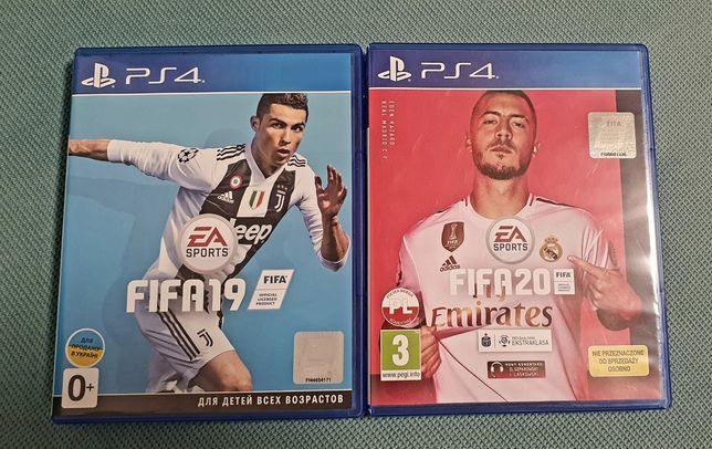 Fifa 20 + Fifa 19 PS4