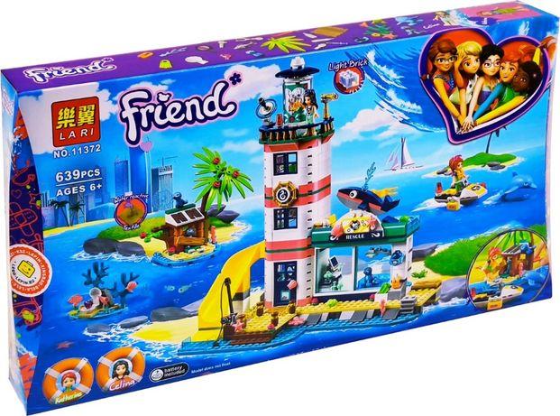 Конструктор Lari 11372 Аналог Lego 41380 Спасательный центр Friends