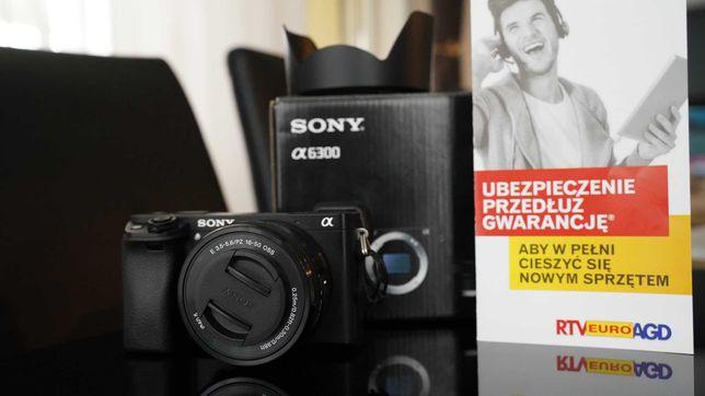 Apart Sony a6300+sony 16-50, GWARANCJA PL (od wszystkiego) do 2024