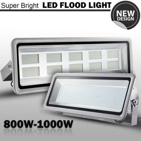 Projector LED 200/300/500/800/1000 watts em branco frio (foco)
