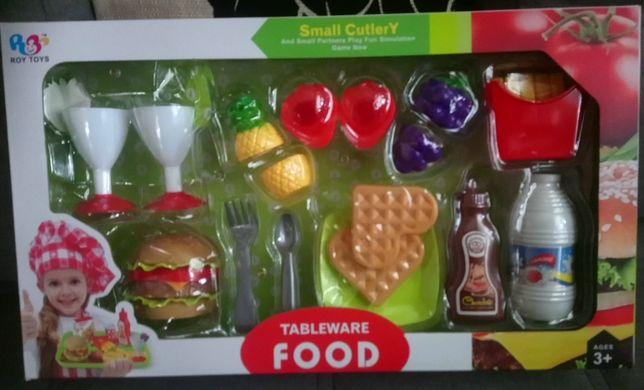 """Детский игровой набор """"Tableware FOOD"""" игры и пазлы"""