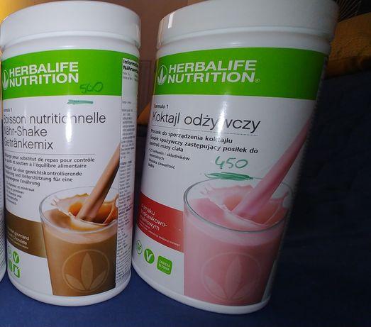 Herbalife koktajl odżywczy czekolada i truskawka
