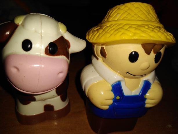 Figurki farma mega blocks