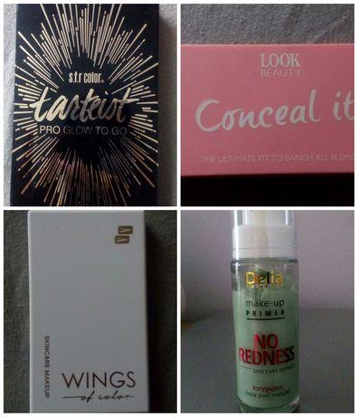 Kosmetyki, paleta cieni, korektor