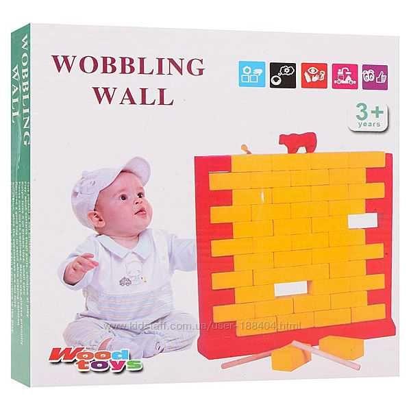"""Деревянная игра """"Wobbling wall"""" - подруга Дженги Ровно - изображение 1"""