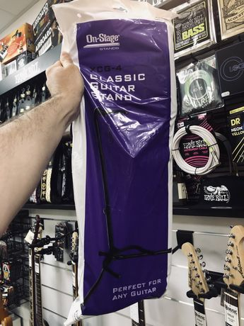 Statyw na gitarę uniwersalny bezpieczny SKLEP CMUSIC KRAKÓW