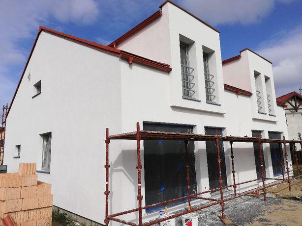 Budowa domu, domów, stan surowy, usługi budowlane, murarze.