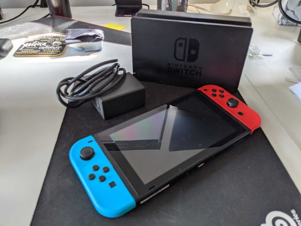 Nintendo Switch como nova!