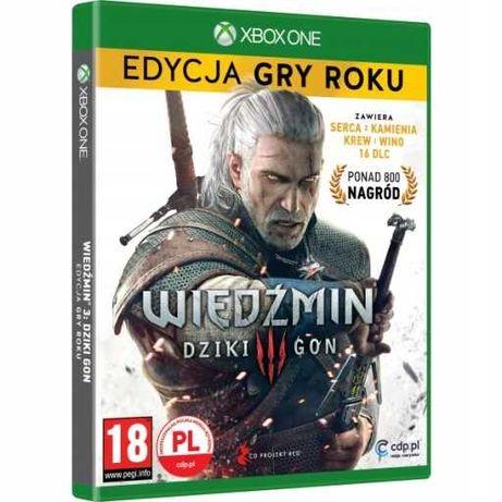Gra Wiedźmin 3 Dziki Gon Edycja GOTY  Xbox One / Xbox Series X S