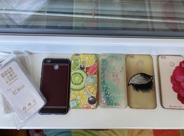 Чехлы и стекло на смартфон Xiaomi Redmi 4х