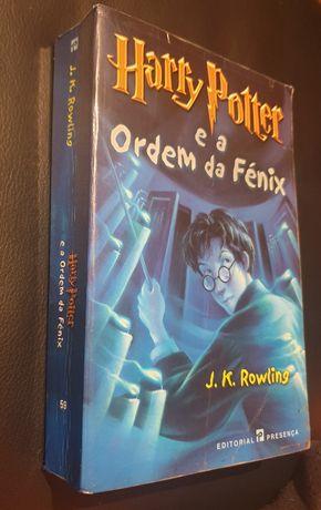 Harry Potter e a ordem da Fénix primeira edição