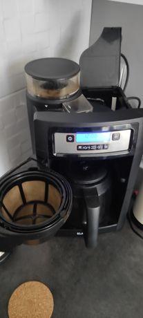 Ekspres do kawy  przelewowy z młynkiem KLARSTEN