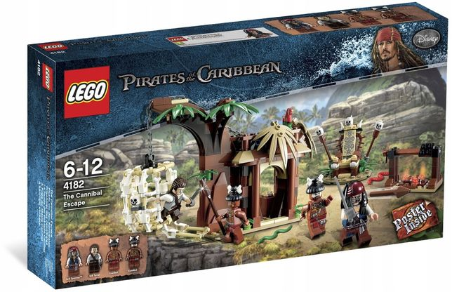 Lego piraci z Karaibów Ucieczka przed Kanibalami