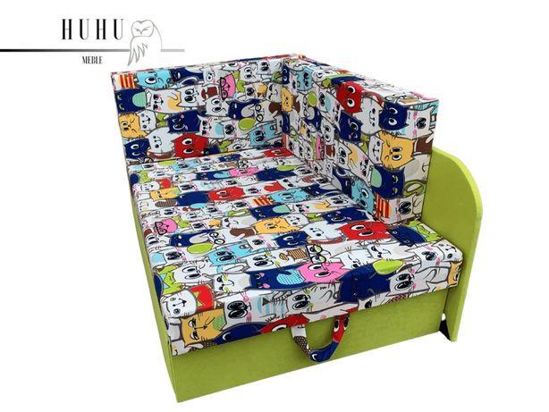 Kubuś, sofka dla dziecka! Rozne kolory, funkcja spania!