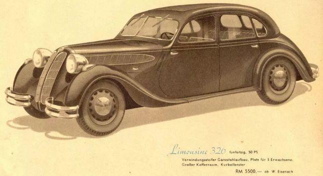 BMW-321 326 340 327 -1939 Деталировка,Каталог деталей,Руководство