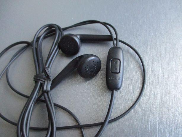 Наушники для LG EAB62209205 с кнопкой включения отключения микрофоном