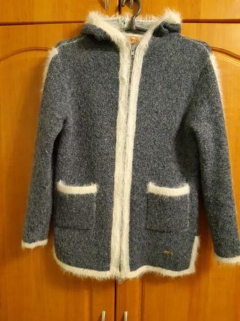 Кофты, жилетка, пальто, платья для девочки 11-13 лет