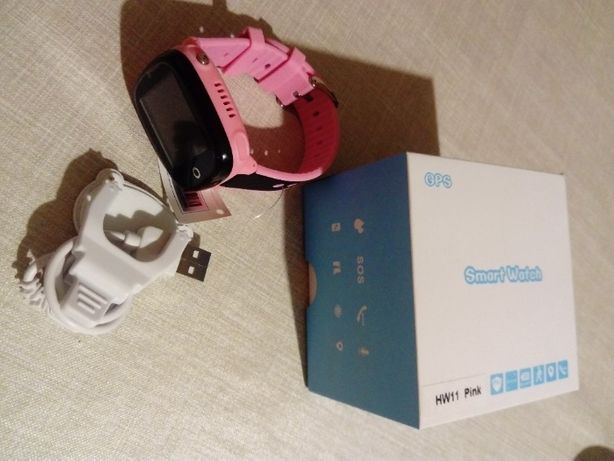 Smartwatch Gepard HW11 różowy dla dziewczynki
