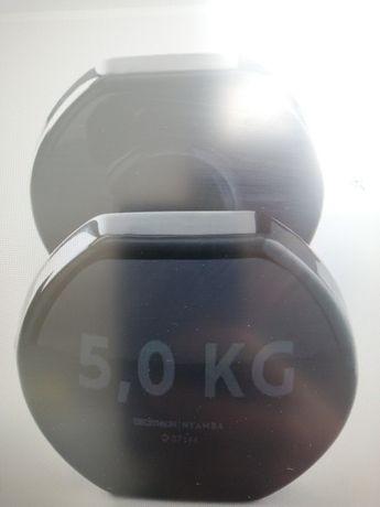 Halteres 5 kg x 2
