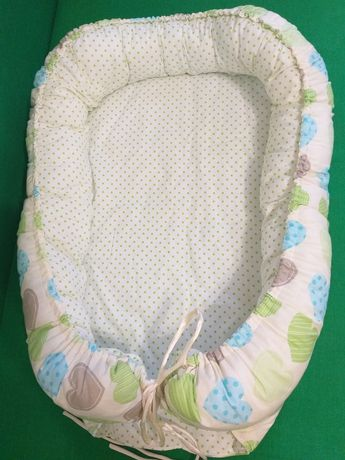 Кокон для новорожденного гнездышко позиционер
